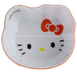 Two Tone Melamine Kids Bowl avec logo (BW7128)