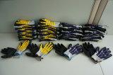 Hppe Shell-Sandy-Nitril beschichtete Sicherheits-Arbeits-Handschuhe (L9600)