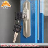 Armadietto d'acciaio di memoria della mensola registrabile del portello di vetro di scivolamento Jas-018 4