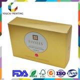 Cadre de papier de pétillement cosmétique de module de couleur estampé par coutume de mode