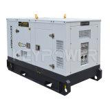 tipo de alquiler conjunto de 60kVA 48kw de generador diesel silencioso con el depósito de gasolina grande