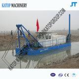 6インチの砂浚渫機械川の砂の浚渫の船