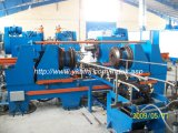 スチールドラムの機械装置のための自動フランジを付けたようになる機械55ガロン