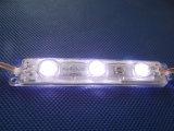 Publicidade eletrônica ao ar livre Módulo LED 5050 com lente