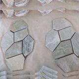 Flagstoneのマットの網の石のタイル(SMC-Y055)