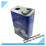 3liters stagno d'acciaio Can_Barrel per l'imballaggio dell'olio di oliva