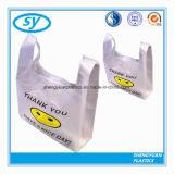 HDPE 조끼 손잡이를 가진 플라스틱 t-셔츠 쇼핑 백