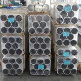 Estándar extruido de tubo rectangular de aluminio 6060 T5