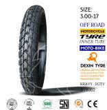África de la motocicleta del neumático del camino parte el neumático 3.00-18 de la motocicleta del neumático de la motocicleta de la moto