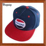 Gorra de béisbol/sombrero ajustados con el borde negro y verde