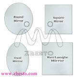 2mm, 3mm, 4mm, 5mm, 6mm, 8mm Zilver en de Spiegel van het Aluminium