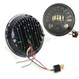 """7 """" 70W da sinistra a destra che girano il faro chiaro del LED con ciao basso irradiano per Harley"""