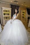 Kristalle, die Ballkleid-Schatz-geschwollene Brautkleider Z1039 Wedding sind