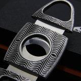 Taglierina di sigaro di qualità superiore di stile dell'ondulazione dell'argento dell'annata di Lubinski (ES-EB-140)