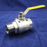 Roestvrij staal 2PC Female /Male Ball Valve