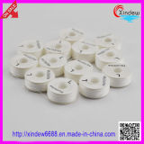 100% Polyester Blanc Bobbin Pre-Wound Thread (XDBT-001)