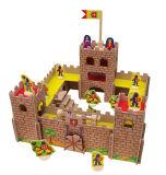 Le Château de bricolage en bois jouet en MDF