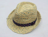 Chapéu de Palha / Chapéu de Verão Chapéu de palha e chapéu barato e elegante (DH-LH91112)