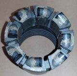 Morceau de faisceau géologique charbonnier de la longue vie nq PCD d'exploration