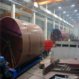 shell del horno rotatorio del espesor de 70m m de las piezas del horno