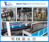 Machine ondulée d'extrusion de pipe de carbone spiralé de HDPE/machine de fabrication
