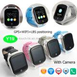 大人のための3G/WiFiカメラGPSの追跡者の腕時計か適性の追跡者Y19を持つ年配者