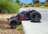 Легко Somersault 1/10 электрический 4WD монстр погрузчика