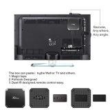 2GB 16GB人間の特徴をもつTVボックスAmlogic S905W X96mini十分に付Kodi 17.3スマートなIPTVボックス