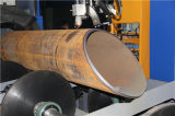 Tipo cortadora de la base del rodillo de acero del tubo del diámetro grande con la certificación de la ISO y del Ce