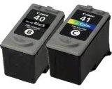 Original compatível para cartuchos de tinta a cores Canon Pg40 Cli41