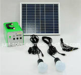 Système d'alimentation solaire de la solution 10W de pouvoir pour la zone pâle