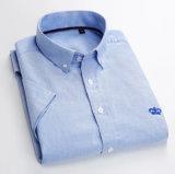 Man Overhemd Oxford 100 Katoenen Stof