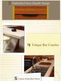 Mobília UV moderna do gabinete de cozinha (ZX-042)