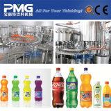 Machine d'embouteillage à boisson gazeuse à bouteille en plastique automatique