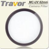 Hermoso diseño de marca Travor filtros UV 62mm cámara digital