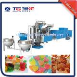 O PLC controla a linha de produção gomosa dos doces