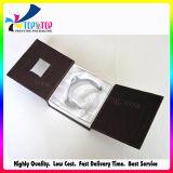 Caixa de embalagem de joalharia de luxo com bandeja Slik de algodão