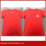 Crear la camiseta de las mujeres para requisitos particulares del cuello de la impresión V (R87)