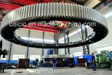 Diâmetro 15m Girth Gear para fornos rotativos e moinhos de bola
