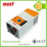 reiner Wellen-Ausgangsniederfrequenzinverter-Solaraufladeeinheit Inversor des Sinus-3kw/4kw/5kw