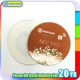 Etichetta adesiva impermeabile degli autoadesivi RFID della modifica di ntag216 NFC