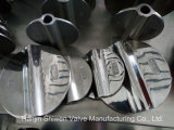 Valvola a farfalla della cialda dell'acciaio inossidabile con il disco di lucidatura