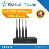 Yeastar 4 GSM Chanel VoIP Gateway met 4 SIM Card voor GSM Terminal