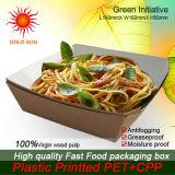 Fast food que empacota, caixa do fast food (K155-D)