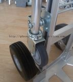 Грузоподъемность до 350 кг из алюминия с откидным верхом стороны тележки