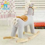 Лошадь 2016 оптовых малышей деревянная дешевая тряся