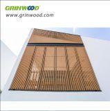 建築材料WPCの固体ボードの木製のプラスチック合成の装飾的な木ずり