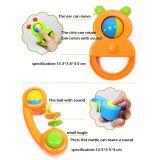8人のPCSのプラスチック子供のおもちゃの一定の赤ん坊のラッセル音(10214092)を詰める送り装置Botle
