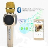 Microfone sem Fios Bluetooth portátil Karaoke para entretenimento