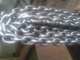 Imballaggio personalizzato ordinario galvanizzato della catena a maglia dell'acciaio dolce